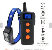 Электронный ошейник ТИЗЕ-816, звук, вибрация, эл. разряд и световой сигнал на ошейнике