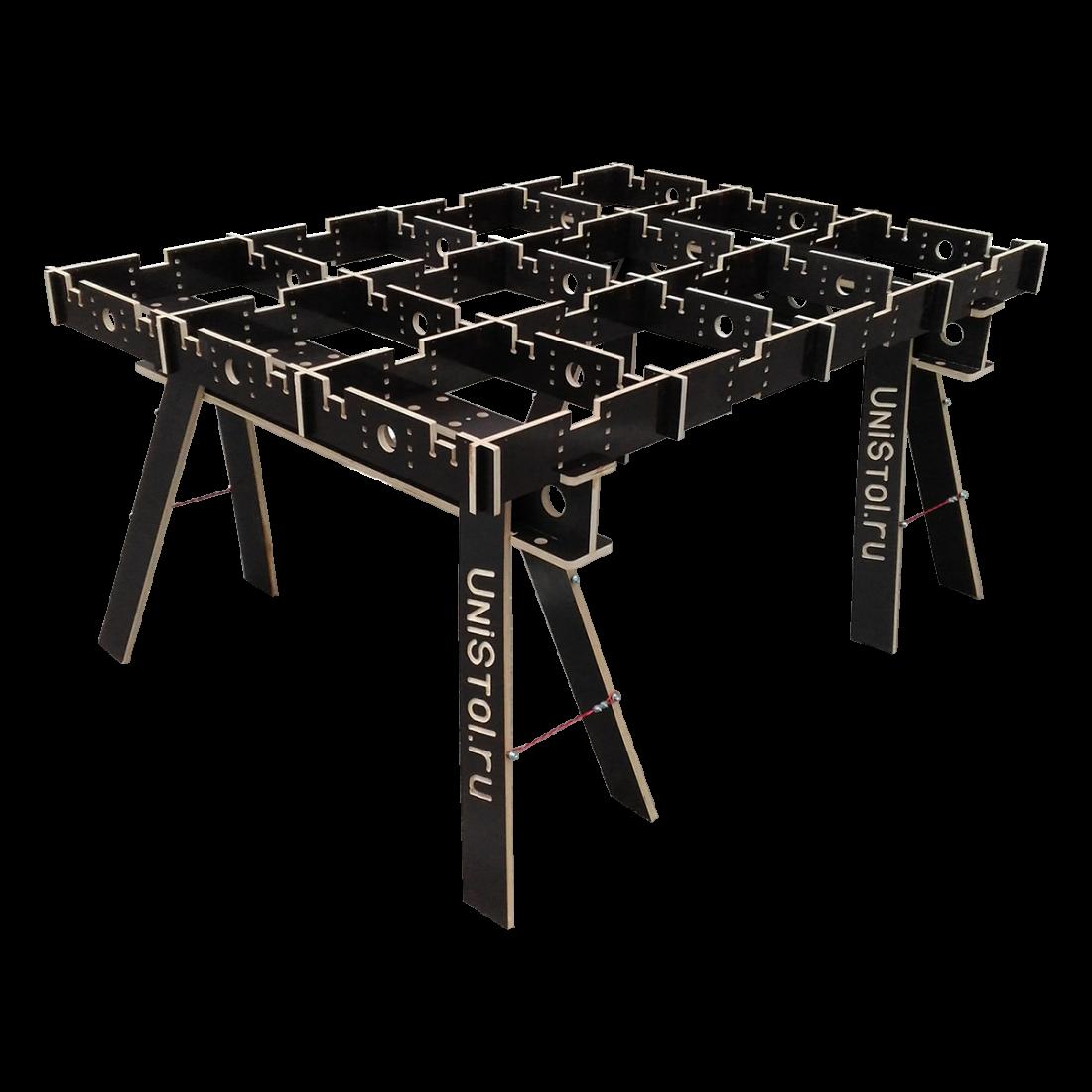 Ячеистый стол для раскроя листовых материалов 1600x1200 мм без столешницы