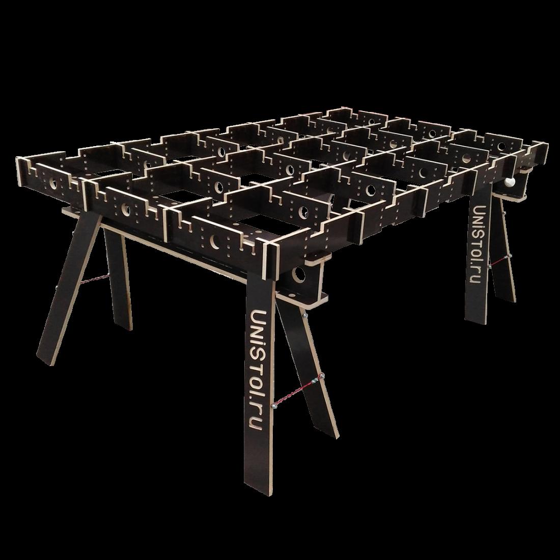 Ячеистый стол для раскроя листовых материалов 2000x1200 мм без столешницы