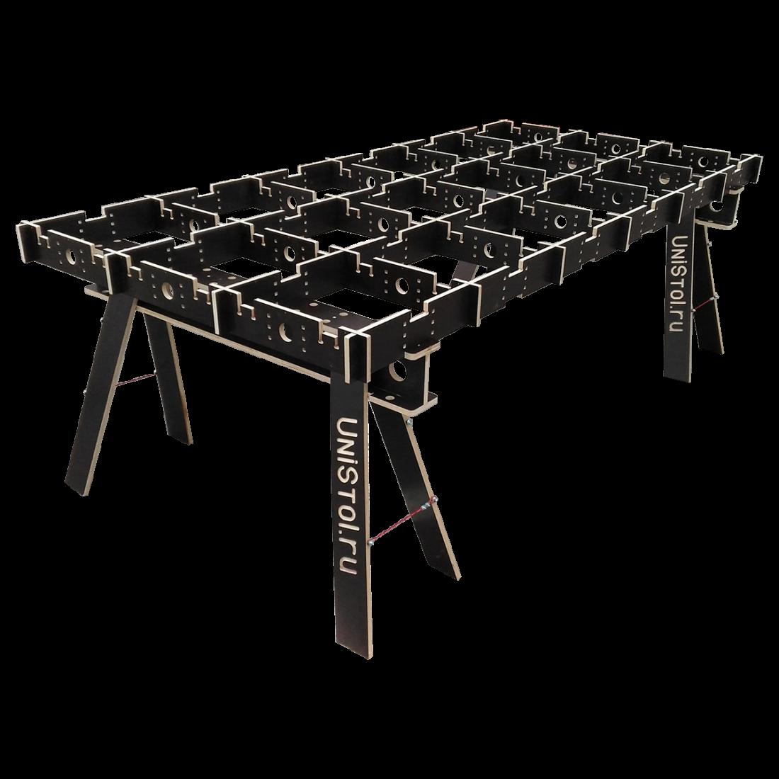 Ячеистый стол для раскроя листовых материалов 2400x1200 мм без столешницы