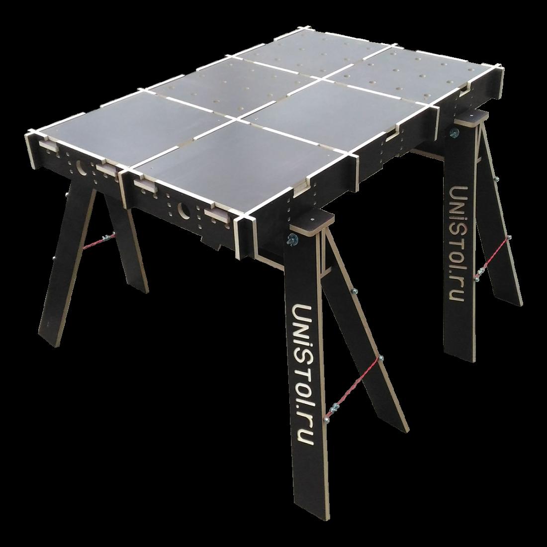 Ячеистый стол для раскроя листовых материалов 1200x800 мм со столешницей