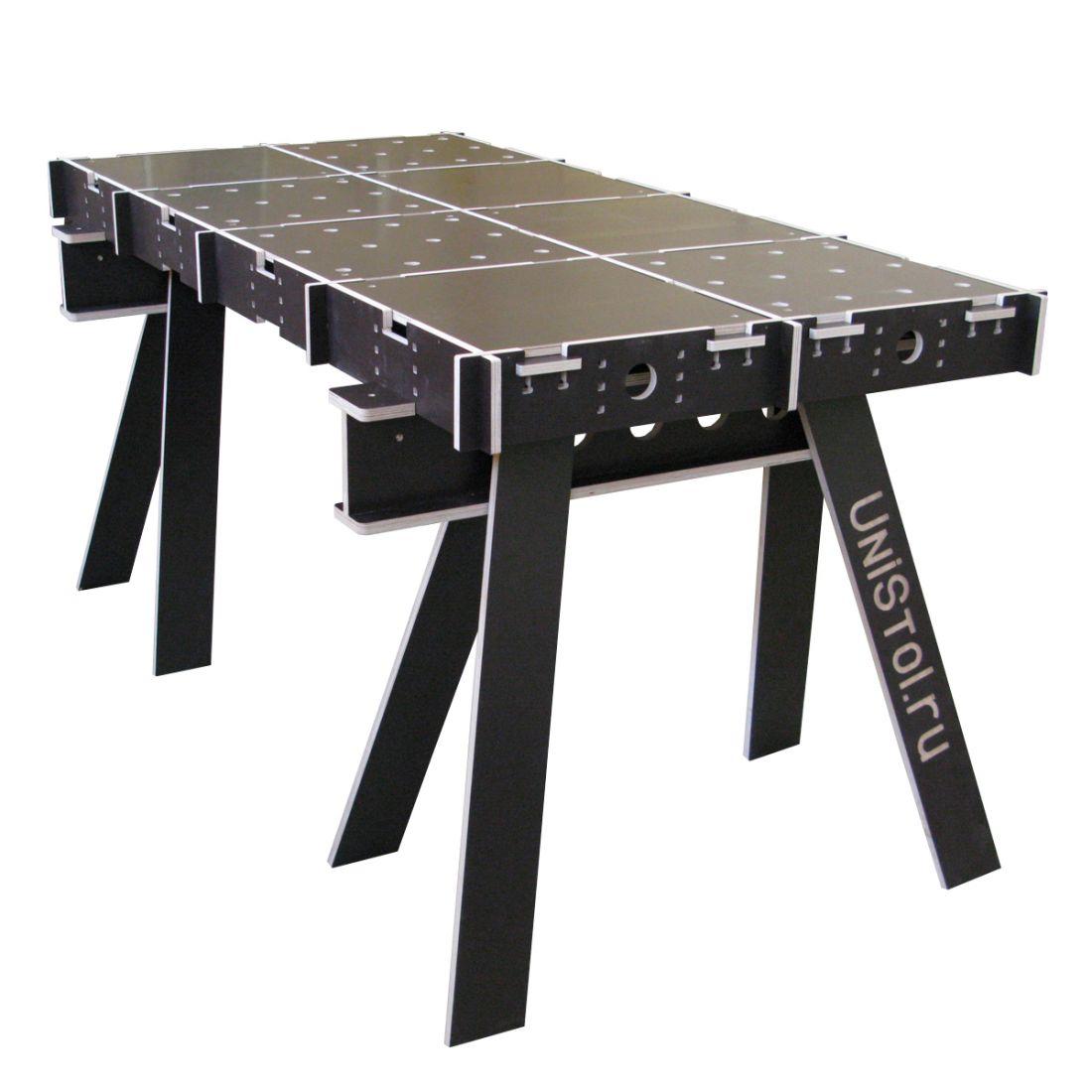 Ячеистый стол для раскроя листовых материалов 1600x800 мм со столешницей