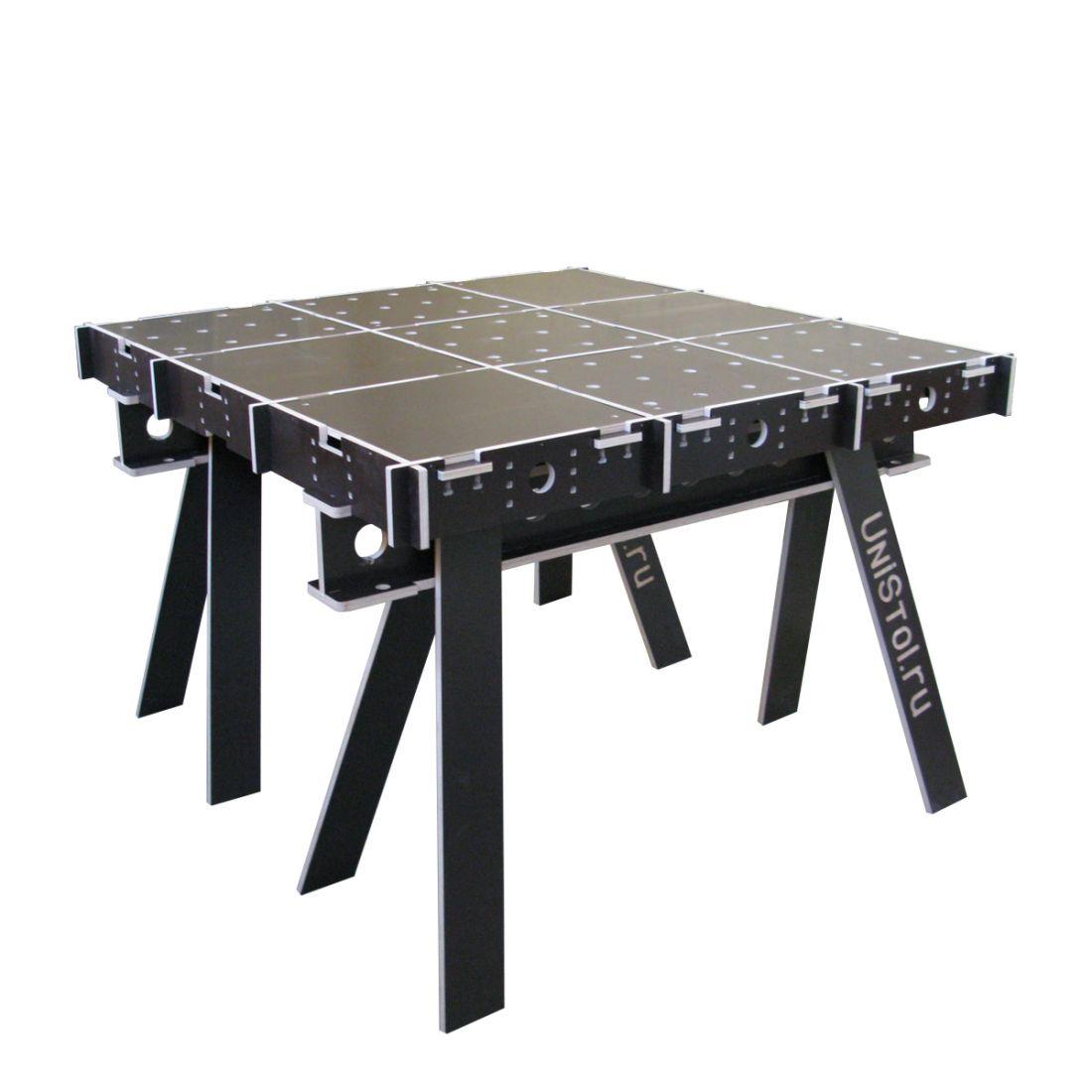 Ячеистый стол для раскроя листовых материалов 1200x1200 мм со столешницой