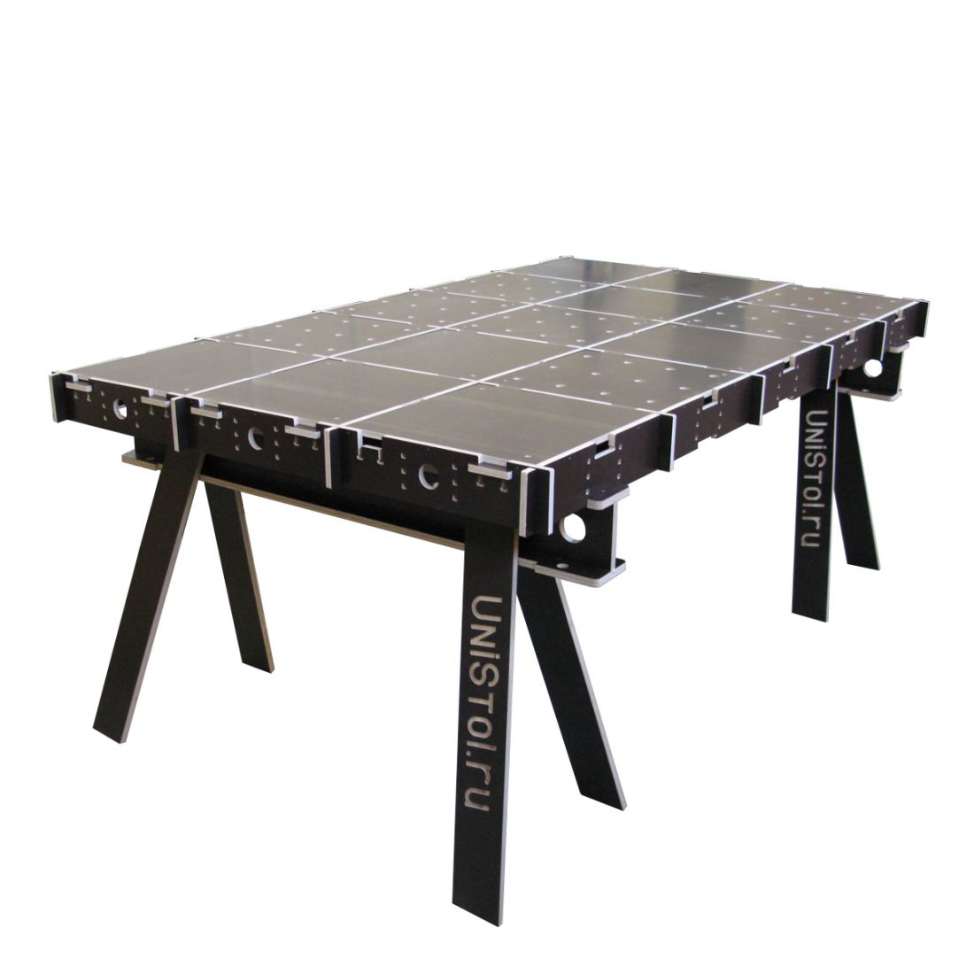 Ячеистый стол для раскроя листовых материалов 2000x1200 мм со столешницой