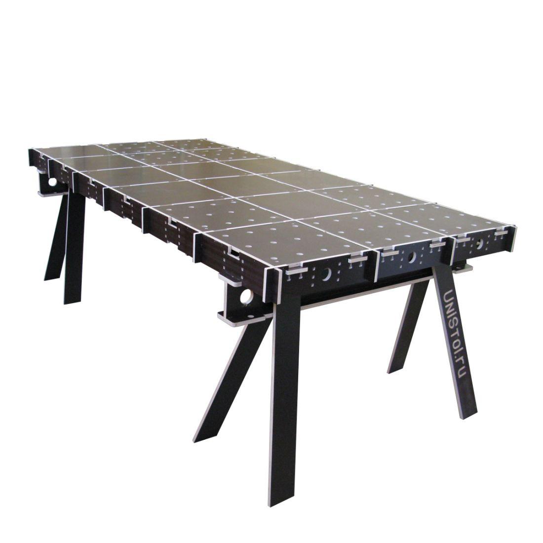 Ячеистый стол для раскроя листовых материалов 2400x1200 мм со столешницей
