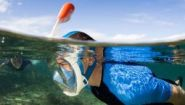 Маска для плавания снорклинга EasyBreath L-XL