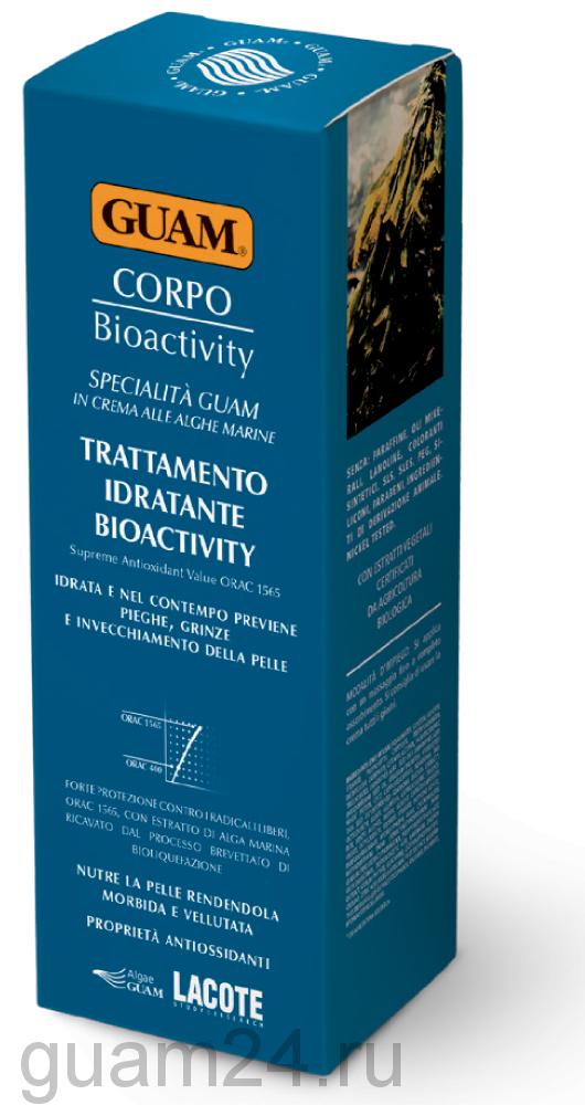 GUAM Крем увлажняющий биоактивный для тела, 200 мл. код 0742