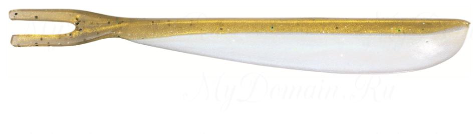 Силиконовая приманка SAKURA DROP FORK 6,5 см цвет 037 Natural Brown Back