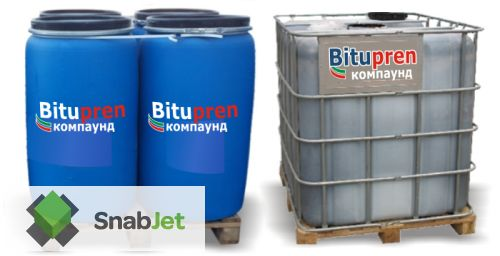 Напыляемая двухкомпонентная жидкая резина COMPOUND ( 210 кг )