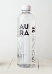 Вода питьевая «AURA» 0,5 л.