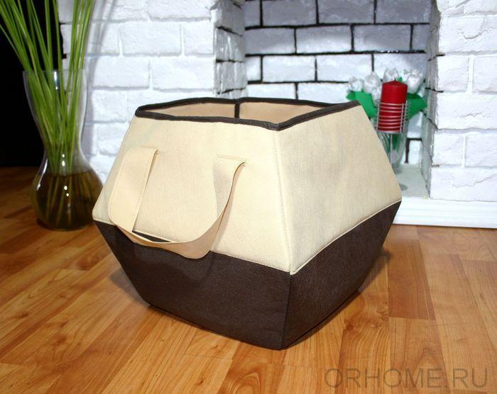 Универсальна фигурная корзина для игрушек 25/35*25*30 см