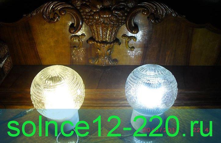 """"""" Вечная лампа"""" дом/улица  7 ватт потребление 70 люмен сила света. 12 вольт (можно 24 в, включив  последовательно) При анализе выхода из строя светодиодн. ламп на 220в выгорает блок питания, а не светоэлемент. В зтих лампах  блока питания нет"""