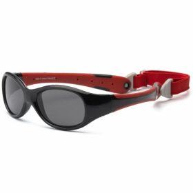 Детские солнцезащитные очки Real Kids Explorer 2+ Чёрный/красный