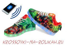 Светящиеся кроссовки с программируемым управлением UFO U4L11-MULTICOLOR
