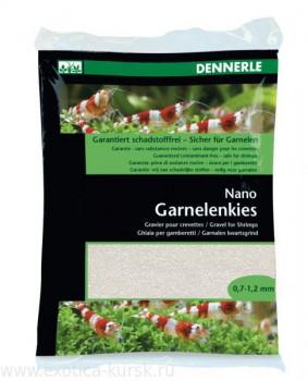 "Dennerle Nano Garnelenkies, цвет ""Sunda white"" (белый), фракция 0,7-1,2 мм."