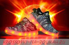 Светящиеся кроссовки UFO camouflage D083-C