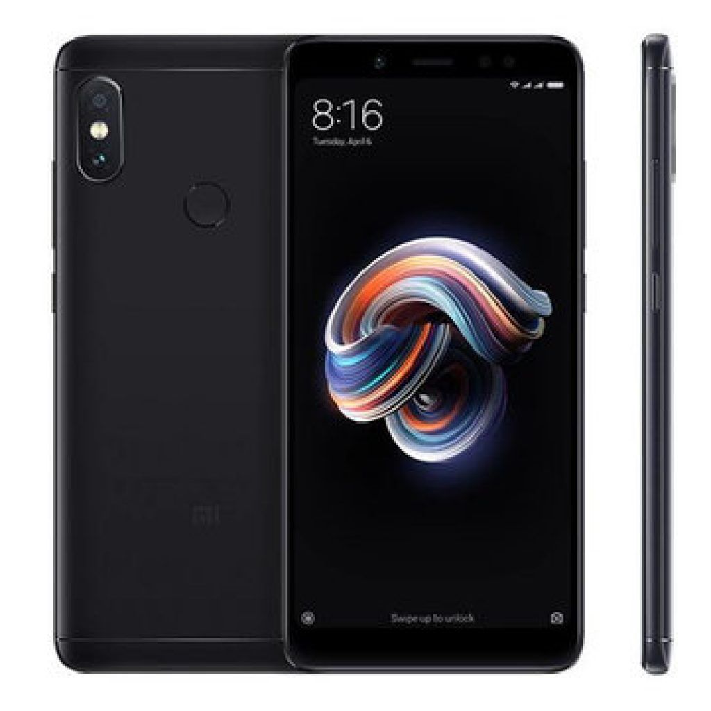 Смартфон Xiaomi Redmi Note 5 4/64GB (черный)