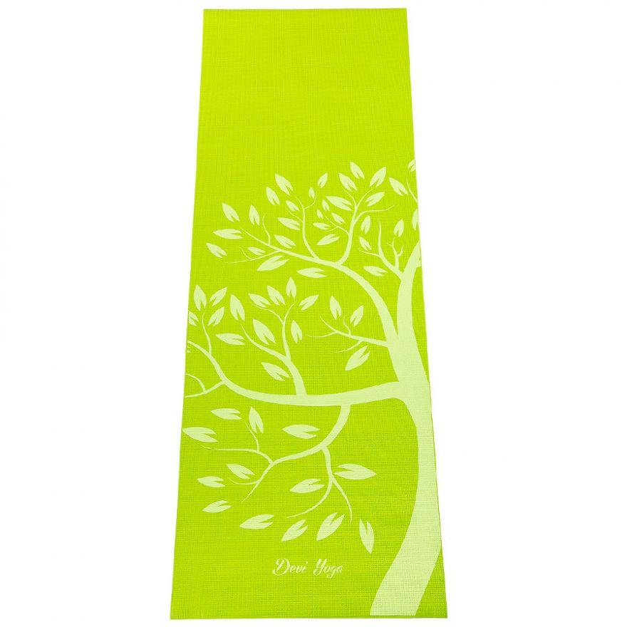 Коврик для йоги Дерево 183*61*0,4см