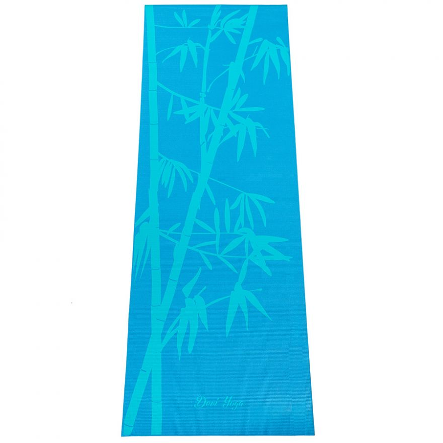 Коврик для йоги Бамбук 183*61*0,4см
