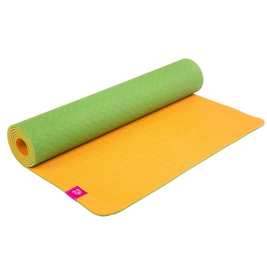 Коврик для йоги Апельсин 183*61*0,5см