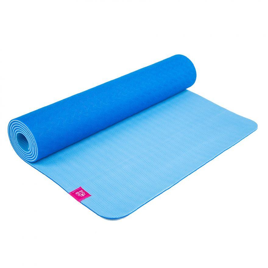 Коврик для йоги Голубика 183*61*0,5см