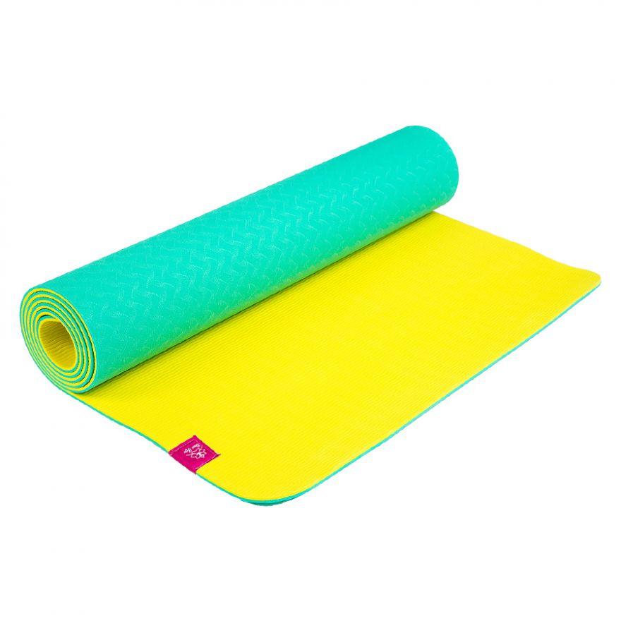 Коврик для йоги Лайм 183*61*0,5см