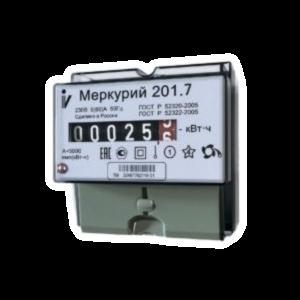 Счётчик Меркурий 201.7 однофазный