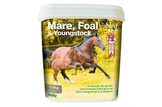 NAF Foal and Young stock. Подкормка для кобыл и жеребят 1,8 и 3,6 кг