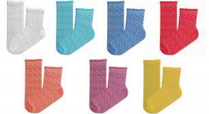 Детские носки ажурные С55 р-р14-16, 16-18