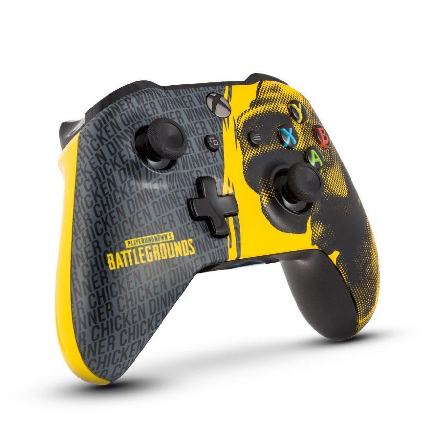 "Геймпад Microsoft Xbox One Wireless Controller ""PUBG"" + игра Playerunknown's Battlegrounds"