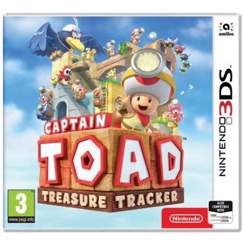 Игра Captain Toad Treasure Tracker (Nintendo 3DS)