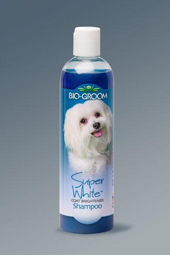 Bio-Groom Super White. Шампунь для светлой шерсти.