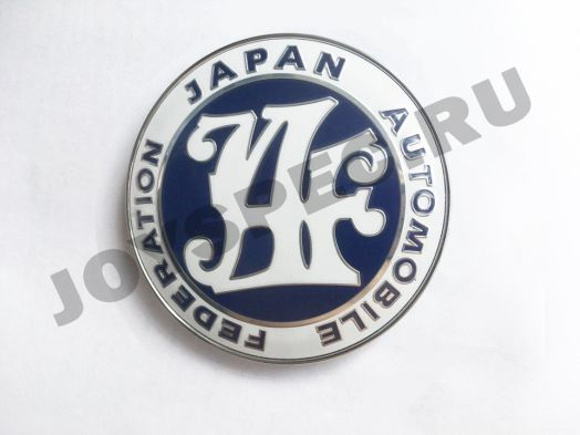 Значок JAF синий