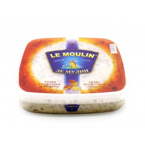 Халва кунжутная с миндалем Le Moulin Ле Мулин - 2 кг