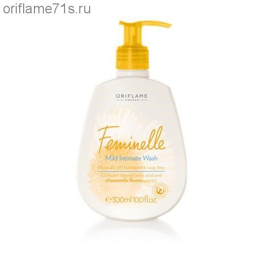 Очищающее средство для интимной гигиены с экстрактом ромашки Feminelle