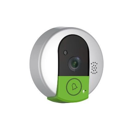 Дверной звонок с камерой CGSS WC95 (WiFi, интерком, ИК-подсветка, в комплекте отдельный комнатный модуль со звонком, 720p)