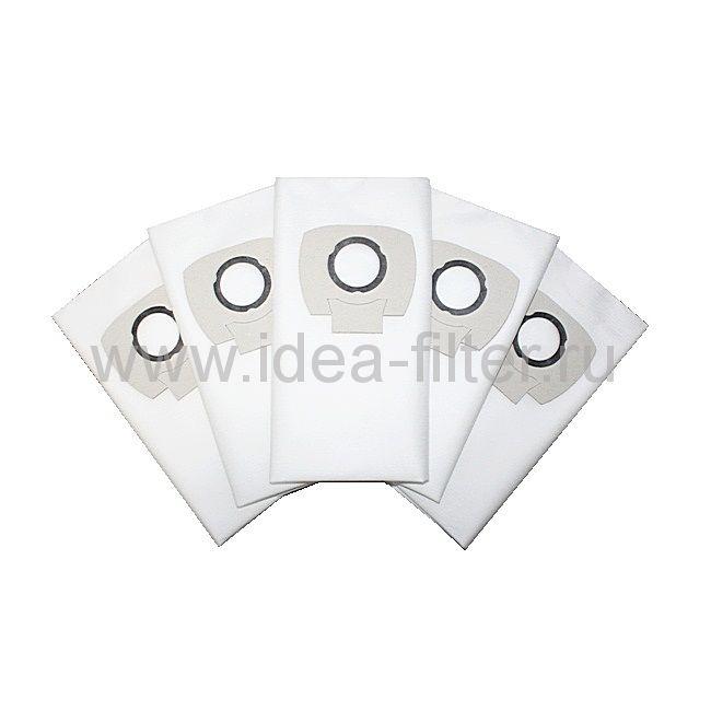 IDEA C-03  мешок для пылесоса SOTECO - 5 штук синтетический (36 L)