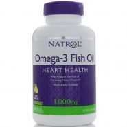 Natrol Omega 3 Fish Oil 1000 мг 150мягких таблеток (пр-во США)