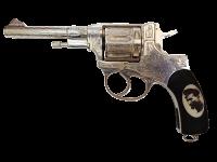 Серебряный револьвер