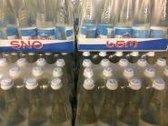 SNO (родниковая вода) 0,5l.  стекл. бут.Грузия.