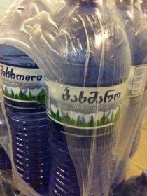 БАХМАРО (родниковая вода) 1,5л. Грузия.
