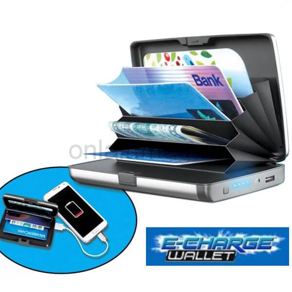 Кошелек-зарядка 10000 мАч E-Charge Wallet (power bank)