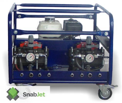 Распылительный насос для жидкой резины COMET MPG ( бензиновый двигатель )