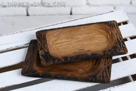 Деревянная тарелка. Корыто. Необычная серия.  арт. 669
