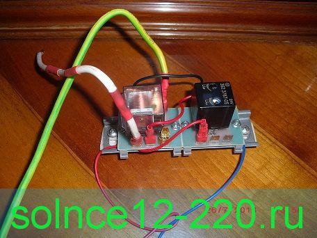 Релейно цифровой контроллер универсал для станций УралецНТ (Солнечные батареи или ветрогенератор)100 ампер 24в со сбросом избытка энергии на отопление/охлаждение