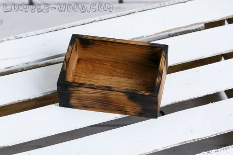 Дубовые коробочки для подачи. Обожженные. Арт. 1575