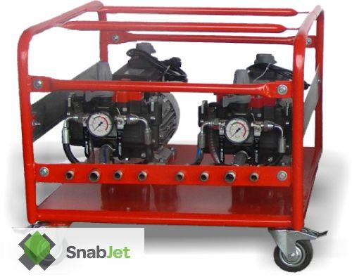 Распылительный насос для жидкой резины COMET MPE ( ЭлектроДвигатель )
