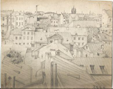 Вид из окна, Петроград