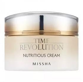 MISSHA Time Revolution Nutritious Cream 50ml - Питательный крем для лица