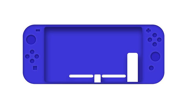 Slicon Case Blue (Nintendo Switch)